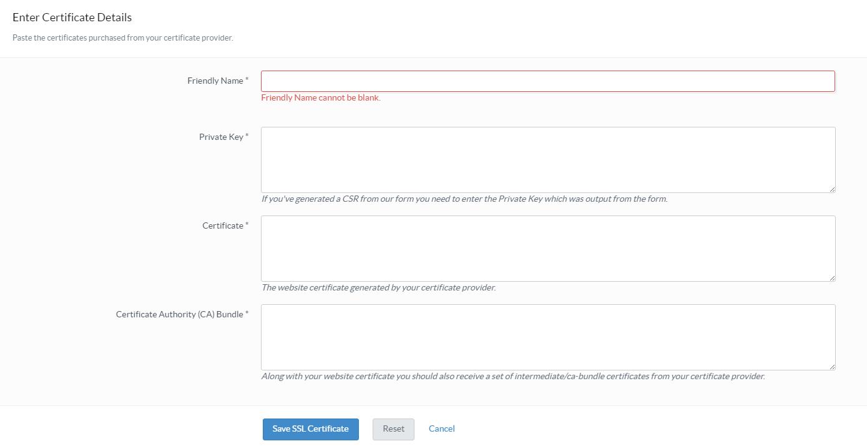 Do you support ssl pressidium managed wordpress hosting pressidium ssl upload certificate xflitez Images