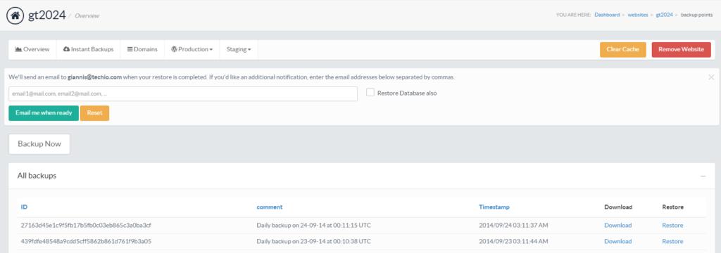 pressidium-restore-backup-form-screenshot