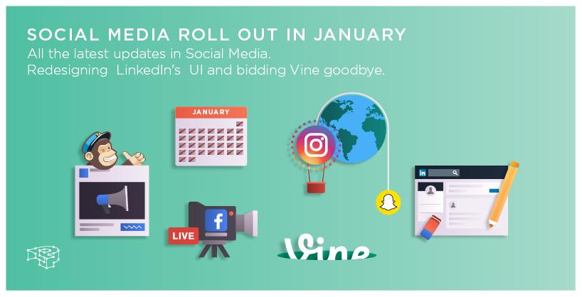 Social Media news for January