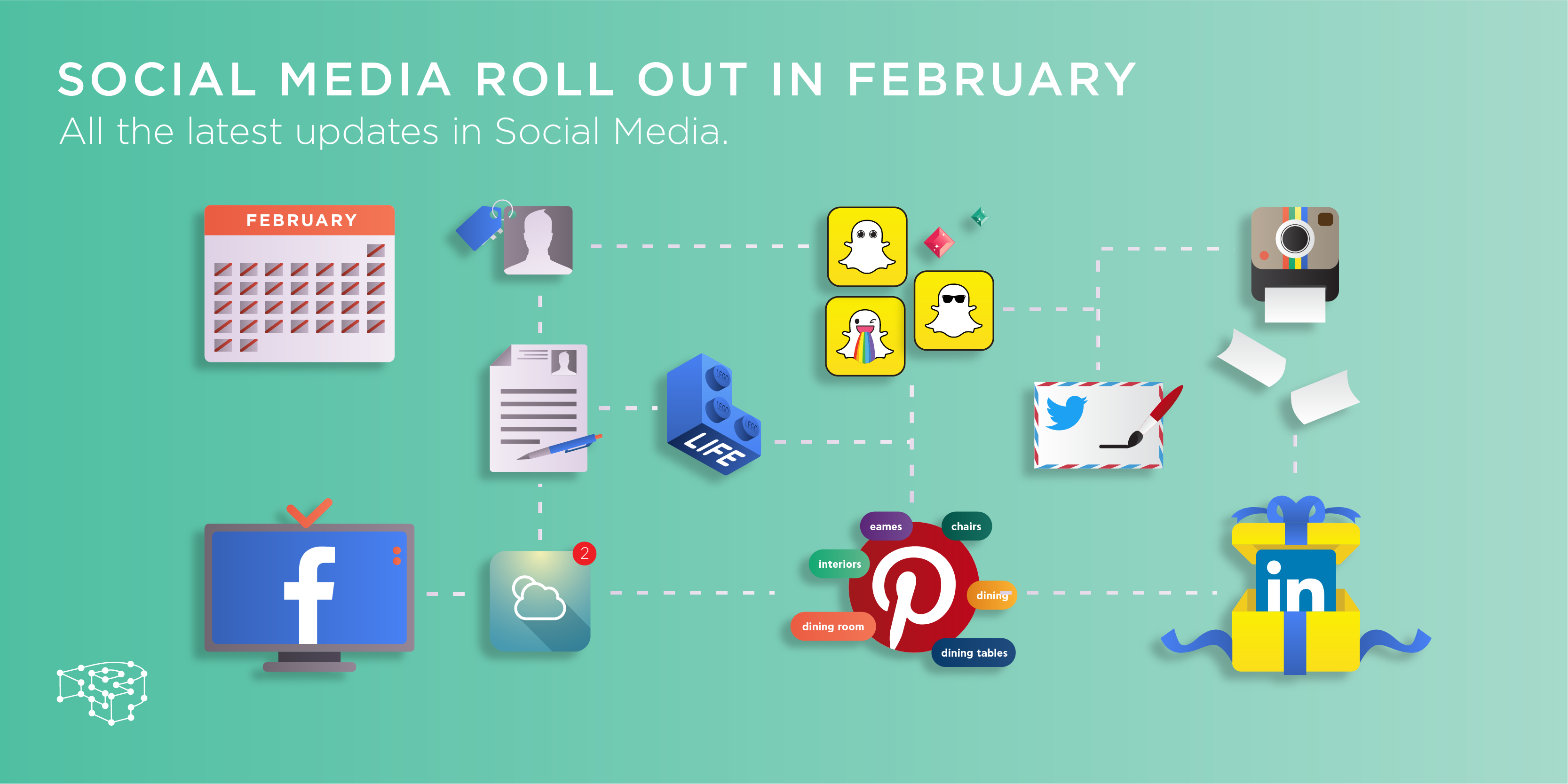 Social media roll out in February