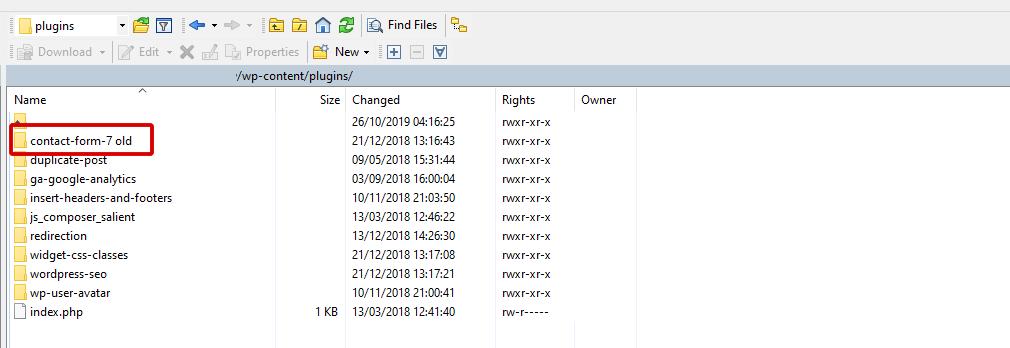 WordPress Files