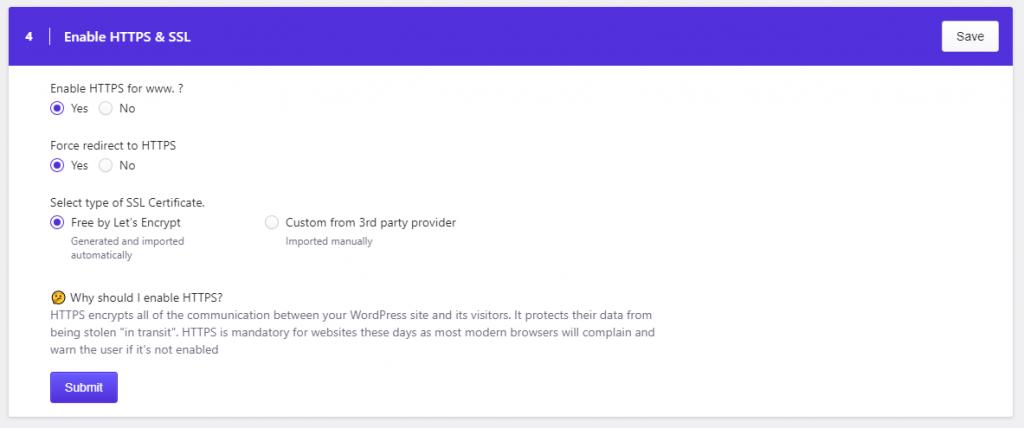 Pressidium SSL Certificate