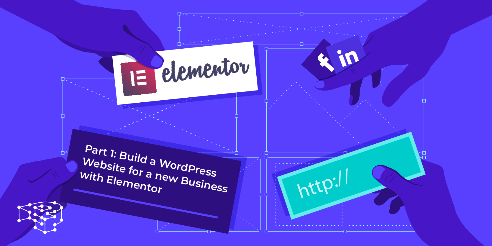 Image for Part 1: Build a WordPress Website for a new Business with Elementor