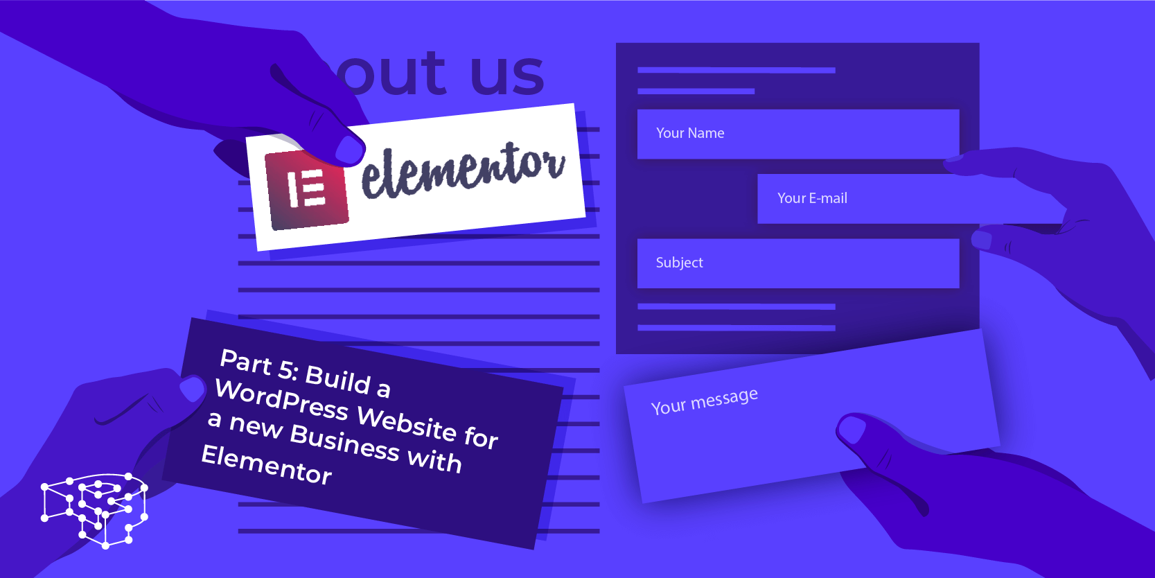 Image for Part 6: Build a WordPress Website for a new Business with Elementor