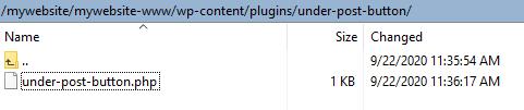 My custom plugin - plugin main file