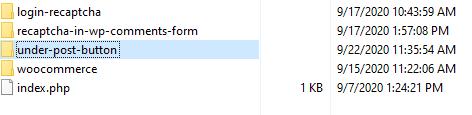 My custom plugin - naming plugin folder