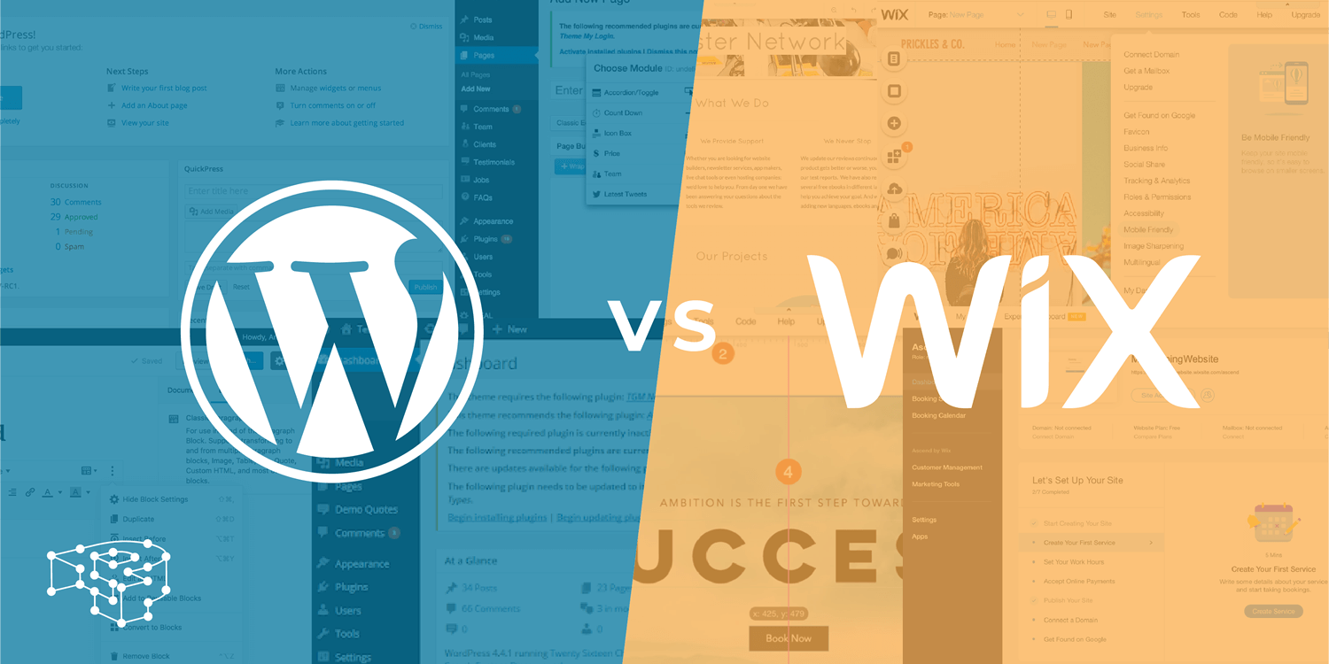 Image for WordPress vs Wix … Which one is Better?